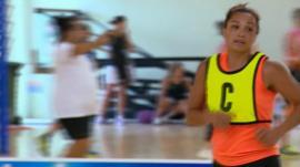 Cook Islands netball player