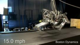 One of Boston Dynamics' robots