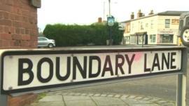 Boundary Lane, Saltney, Flintshire