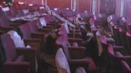 Damage to theatre