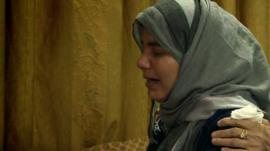 Bereaved Iraqi mother