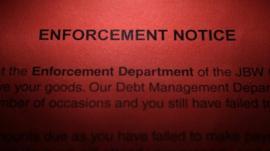 An enforcement notice