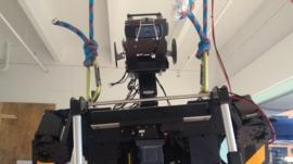 Thor, a robot produced by Virginia Tech