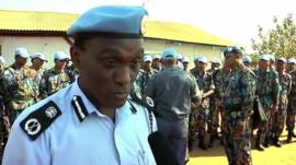 UNMISS Police Commissioner Fred Yiga
