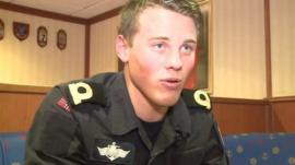 Crew member of HNoMS Helge Ingstad