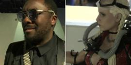 Will.i.am and a 3D print out
