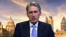 Defence Secretary Philip Hammond