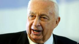 Ariel Sharon in 2004
