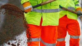 Council workers
