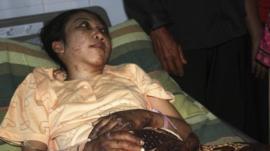 Indonesian domestic helper Erwiana Sulistyaningsih