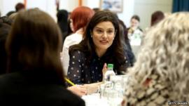 Miriam Gonzalez-Durantez at Inspiring Women careers event