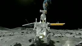 China's moon rover 'Jade Rabbit'