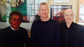 Roger Daltrey, John Wilson and Wilko Johnson