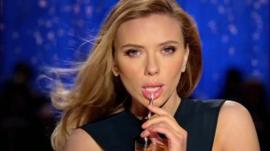 Scarlett Johannson in SodaStream advert