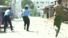 Unrest in Mombasa
