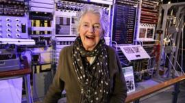 Margaret Bullen was a wirer at Bletchley on the Colossus machine, Britain's first electronic computer