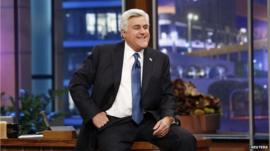 Jay Leno presents his final episode of the Tonight Show