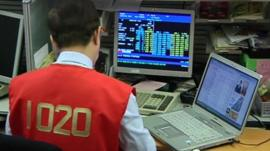 Trading shares on the Hong Kong stock exchange