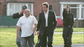 David Cameron campaigning in Wythenshawe