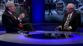 Jeremy Paxman and Lord Smith, Chair, Environment Agency