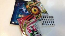 Packets of legal highs
