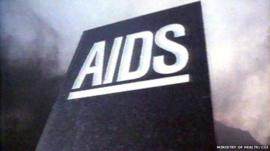 AIDS advert