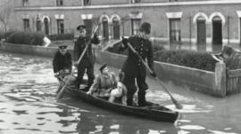 The 1947 Thames flood