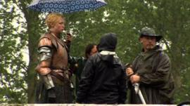 Game of Thrones being filmed in Northern Ireland
