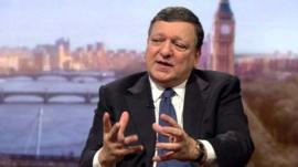 Scottish EU bid 'extremely difficult' - Barroso