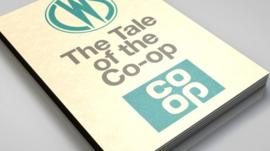 graphic showing 'Tale of the Co-op' book