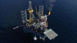 North Sea rig