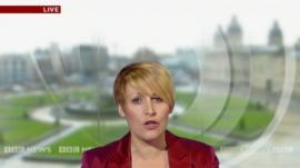 Caroline Bilton on BBC Look North