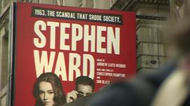 A billboard promoting Andrew Lloyd Webber's Stephen Ward