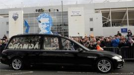 Hearse at Deepdale