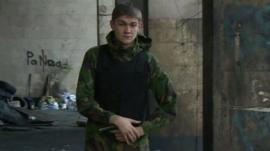 Armed member of far-right group