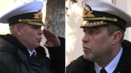 New Navy Chief and former Navy Chief
