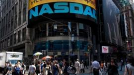Nasdaq external building