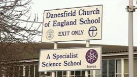 Front of Danesfield School