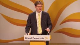 Treasury Chief Secretary Danny Alexander
