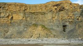 Cliffs at Cwm Nash, Wick
