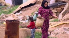 Refugee camp in Lebanon