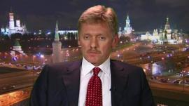 President Putin's official spokesman Dmitry Peskov
