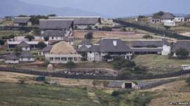 Home of Jacob Zuma in Nkandla