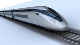 potential HS2 train