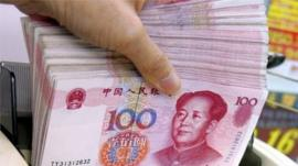Chinese currency the Yuan