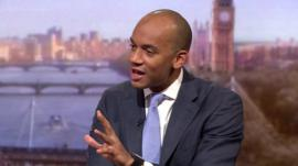Chuka Umunna on The Andrew Marr Show
