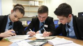 School Reporters at Portadown College