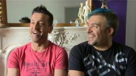 Darren Williams and Federico Podeschi