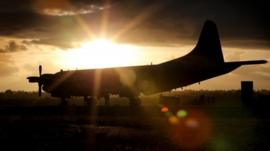 South Korean P3 Orion arrives at RAAF Pearce Air Base