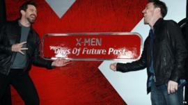 Hugh Jackman and James McAvoy